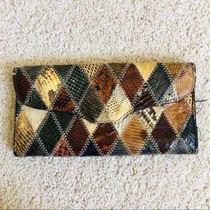 Vintage Snakeskin Wallet